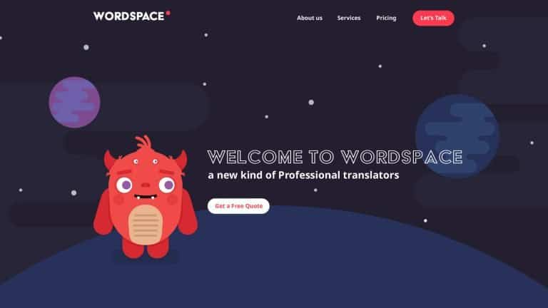 Wordspace - digital branding, web design and illustration. ui/ux design, wordpress design.