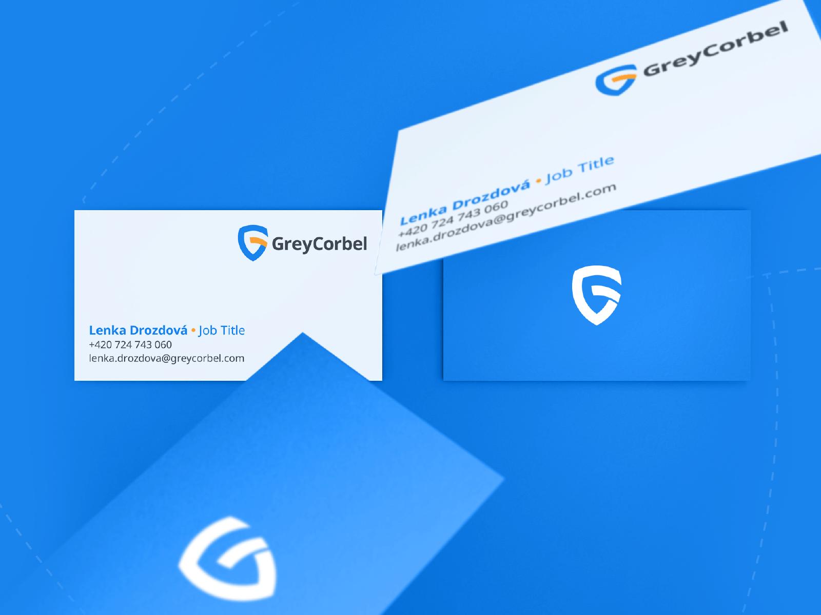 Greycorbel - branding, digital branding, logo design, visual identity, brand identity