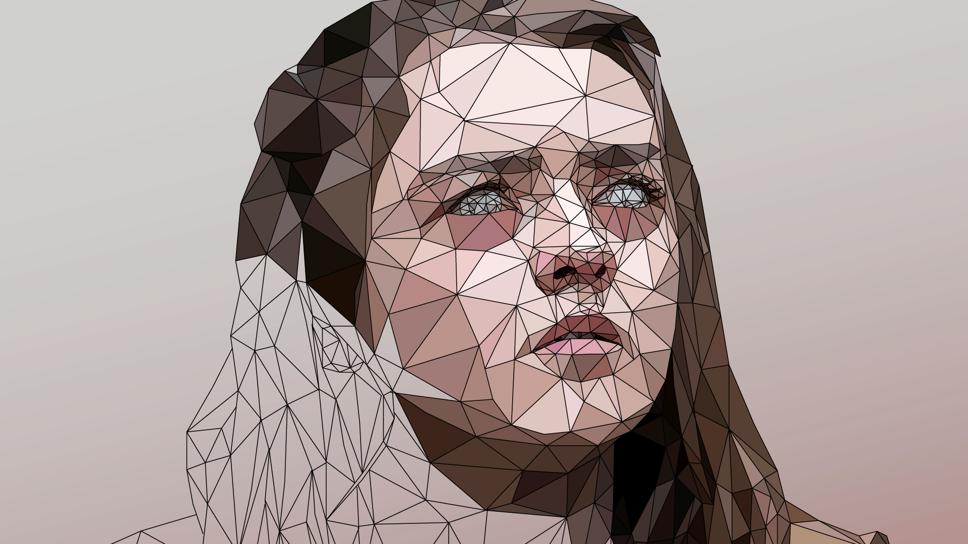 Game of thrones low poly illustration by mordi levi. digital illustration, low poly, lowpoly.