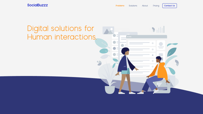 Socialbuzzz - digital branding, web design and illustration. ui/ux design, wordpress design.